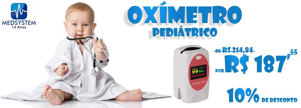 Oxímetro de Dedo Pediátrico Promoção