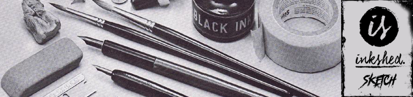 Inkshed Sketch -Banner Vitrine - 850X200