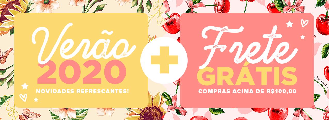 Banner Frete Grátis e Verão