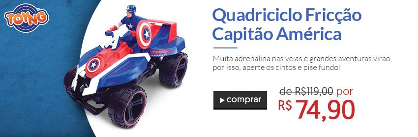 Brinquedos - Quadriciclo Capitao America