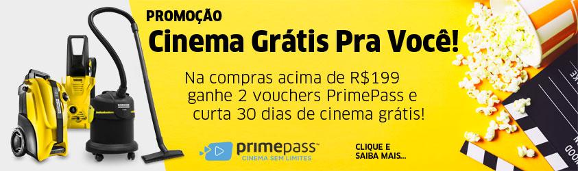 Promoção Cinema Grátis