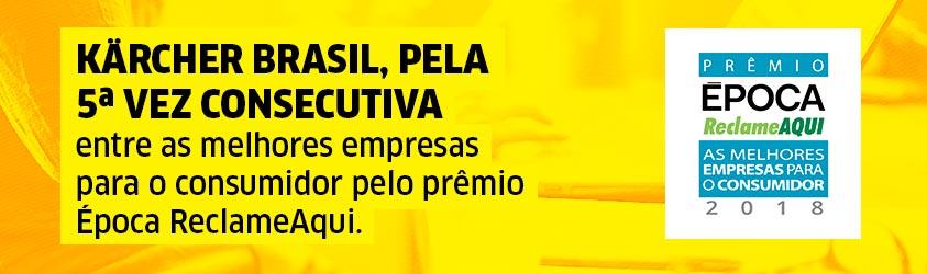 Banner Prêmio Época ReclameAqui 2018