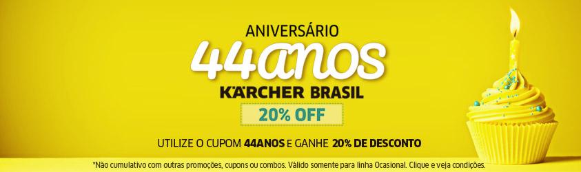 Promoção 44 Anos Kärcher