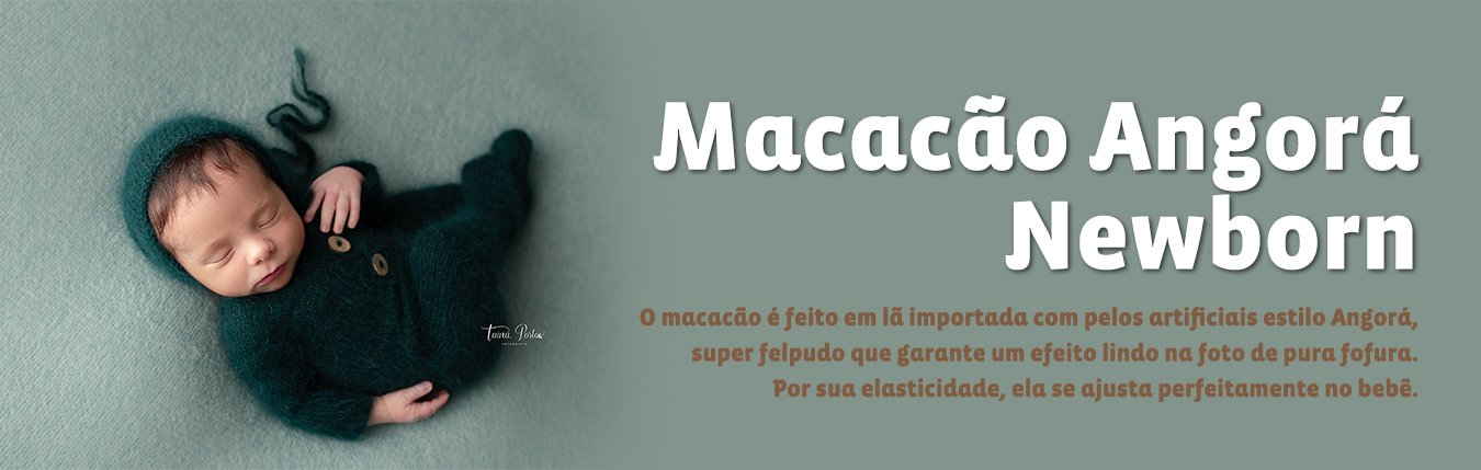 Categoria Macacão Newborn