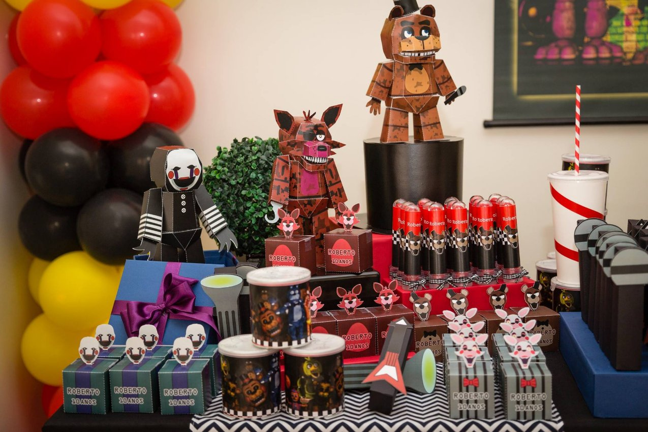 FESTA FNAF - Five NIghts at FREDDY's