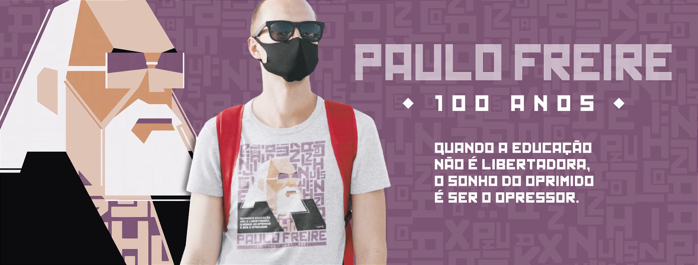 Lançamento Paulo Freire 100 anos