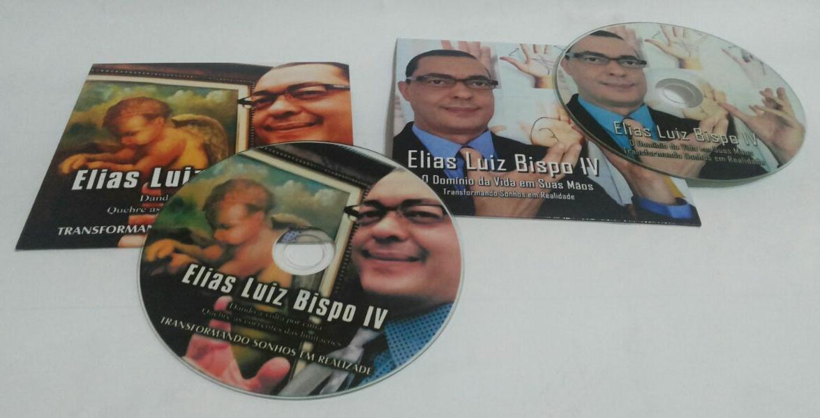 SUPER PROMOÇÃO CD'S Elias Luiz Bispo IV