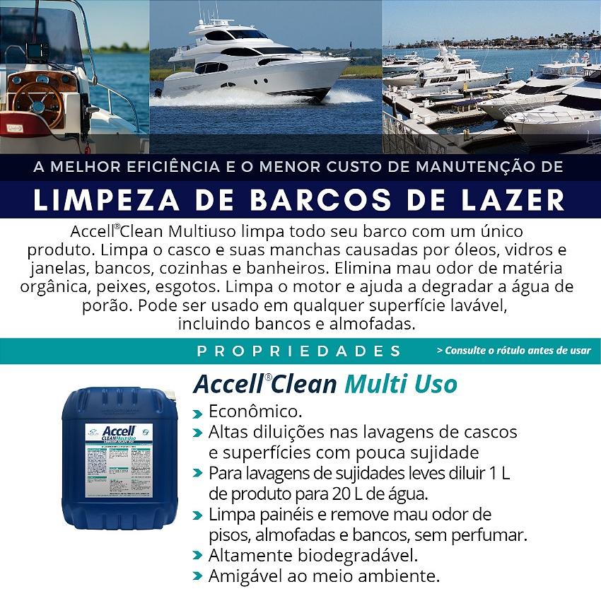 Limpeza de Barcos de Lazer