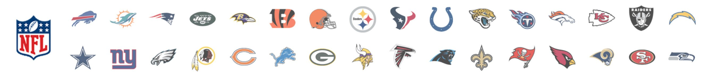 Vitrine Times NFL