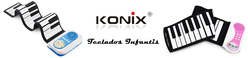 Teclados Infantis Konix