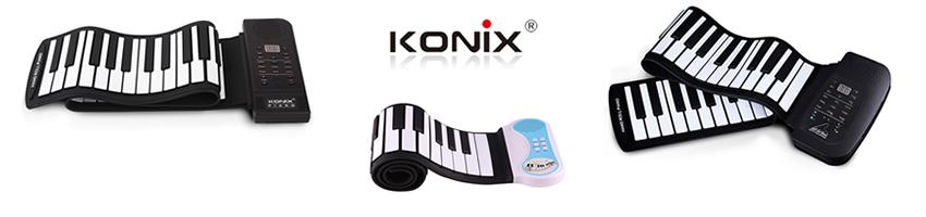 Teclados Flexíveis de Rolo - Konix