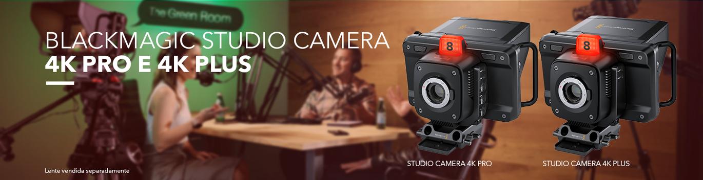 Studio Camera 4k Plus e Pro