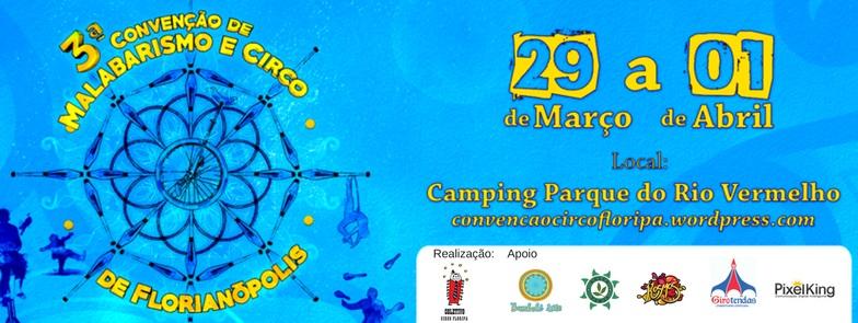 3ª Convenção de Malabarismo e Circo de Florianópolis
