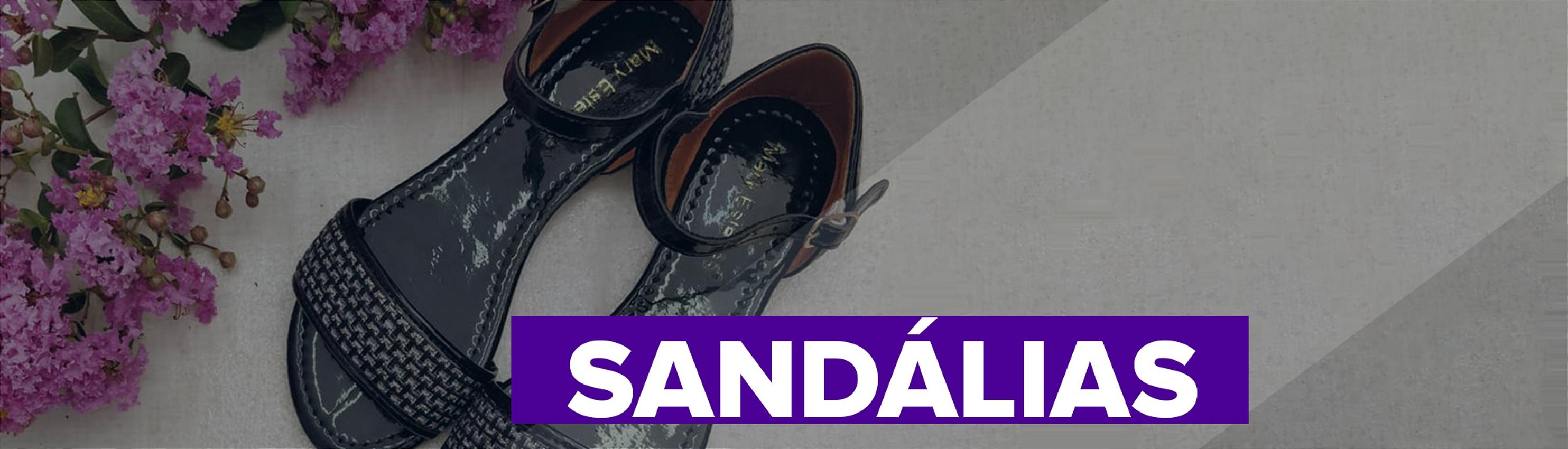 vitrine sandália