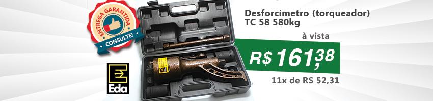 Desforcímetro (torqueador) TC 58 580kg