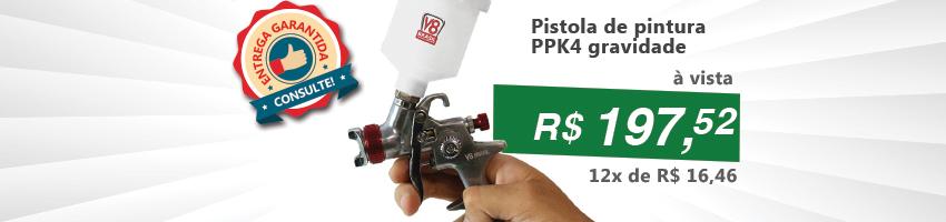 Pistola de Pintura PPk4
