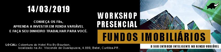 Workshop Fundos Imobiliarios