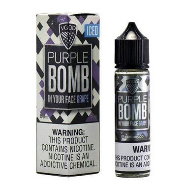 Líquido Purple Bomb Iced - Caravela