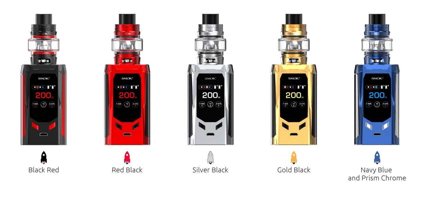 Kit R-Kiss 200W c/ Atomizador TFV8 Baby V2 – SMOK™