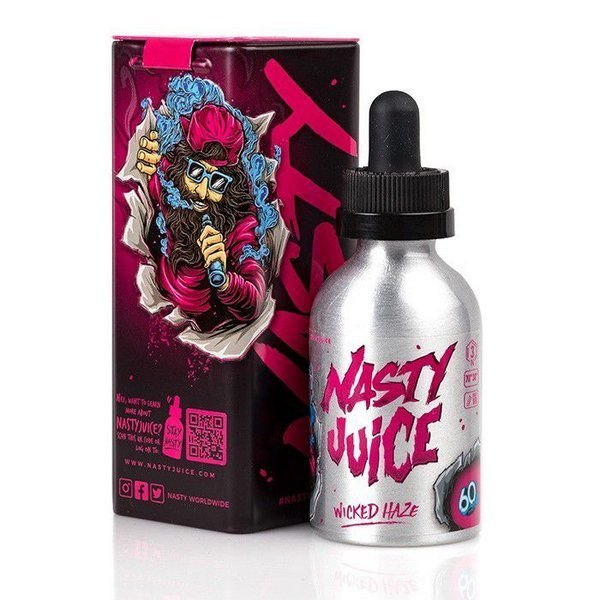 Líquido Wicked Haze - Double Fruity Series - Nasty Juice