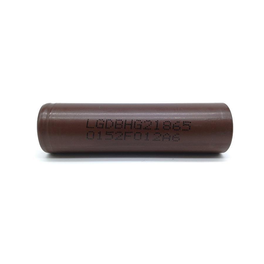 Bateria 18650 Li-Ion LG Chocolate 18650 HG2 3.6V 3000mAh High Drain 20A Flat Top - LG