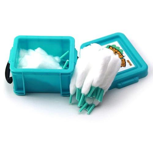 Algodão Orgânico Preloaded Cotton 50 - unidades - Doctor Coil