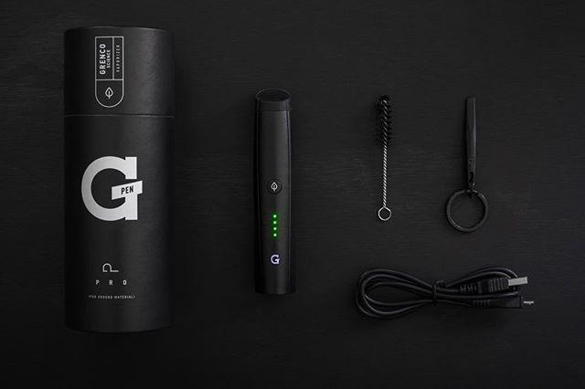 Vaporizador de Ervas | G Pen PRO™ | BLACK – Grenco Science