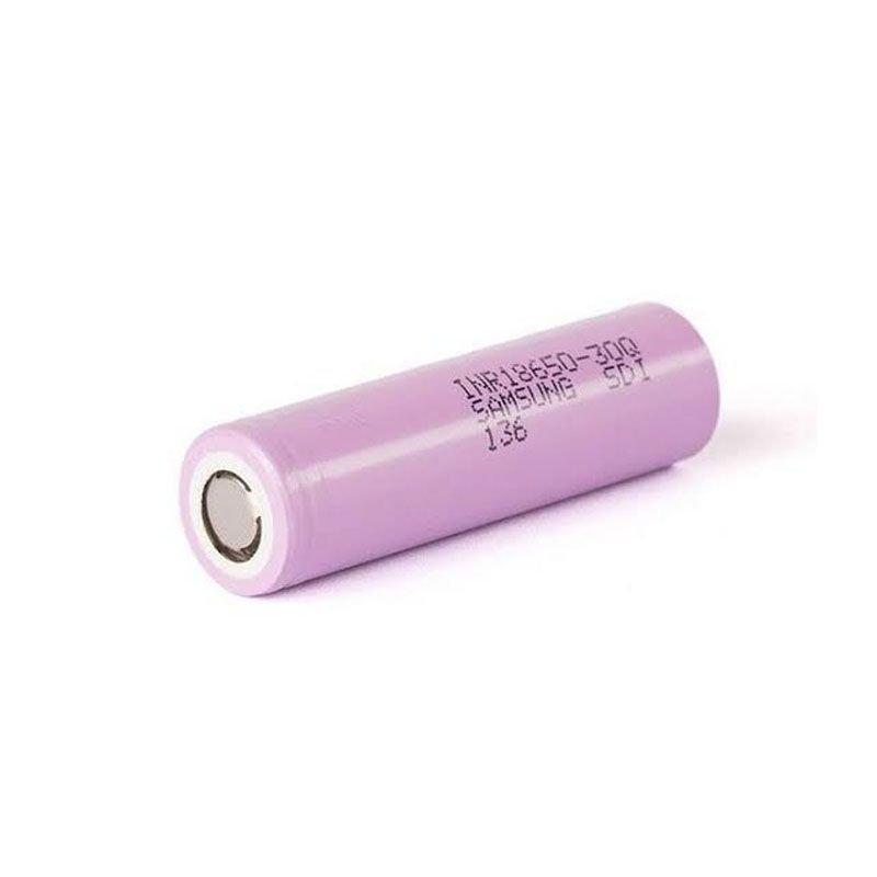 Bateria (18650) 3000mAh Flat Top 15A (30Q) High-Drain - Samsung