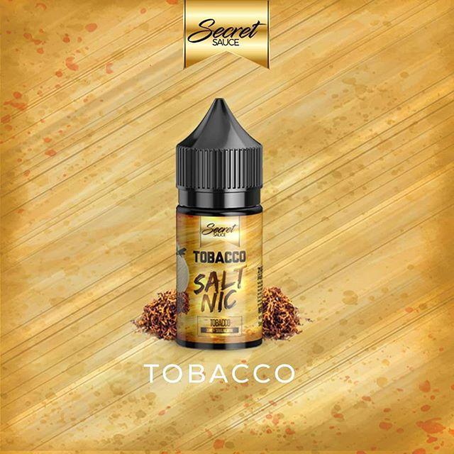 Líquido Tobacco - Salt Nic - Secret Sauce