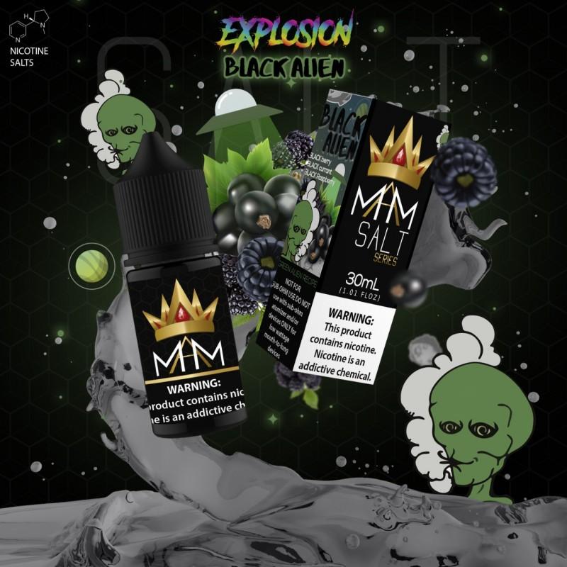 Líquido Black Alien SaltNic / Salt Nicotine - Matiamist