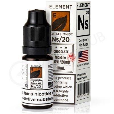 Líquido Element SALT / 35MG - Chocolate Tobacco