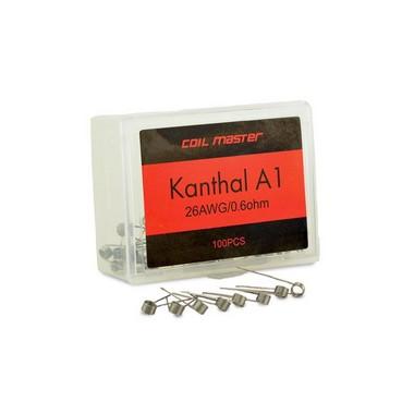 Kit de Resistências Prontas Kanthal A1 + Algodão Organico - UD Youde Technology®