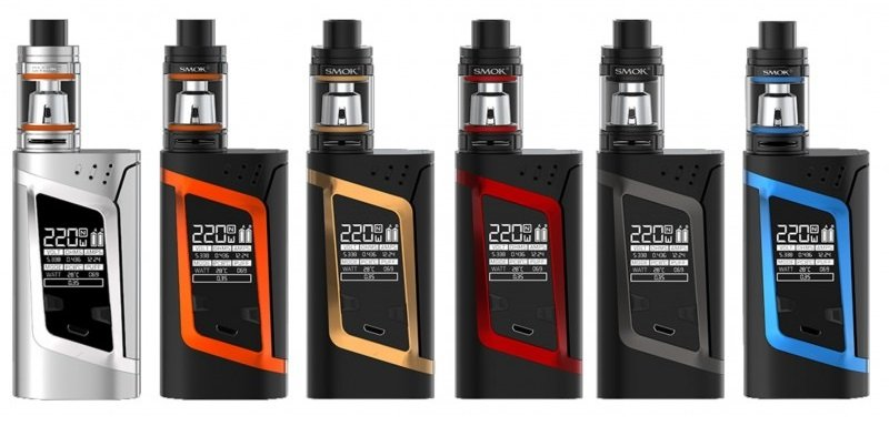 Kit H-PRIV 220W TC c/ Atomizador Micro TFV4 - Smok™