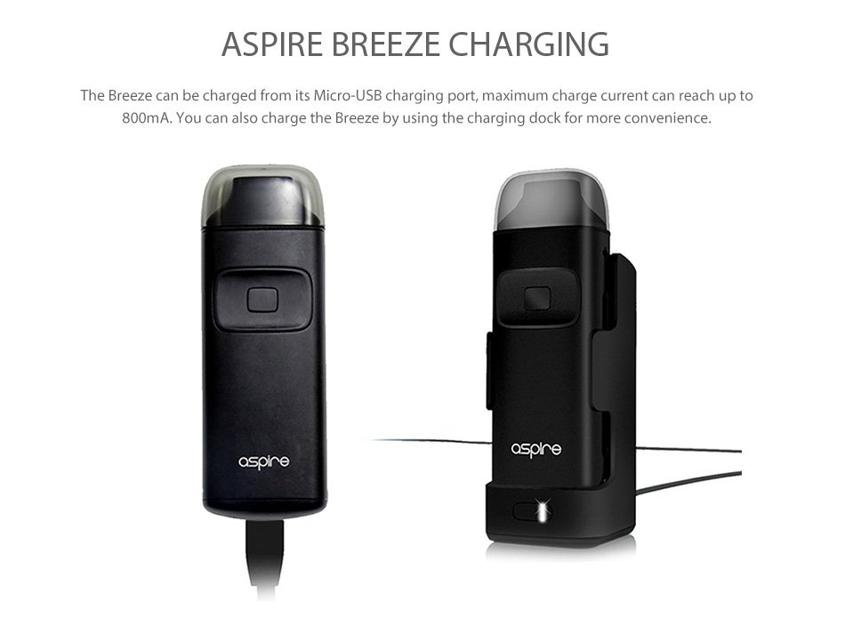 Kit Breeze AIO 650mAh - Aspire™