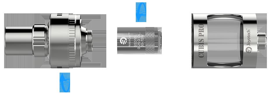 Kit eVic AIO 75w c/ Cubis PRO - Joyetech™