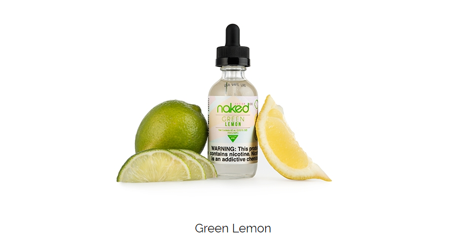 Líquido Green Lemon - Naked 100