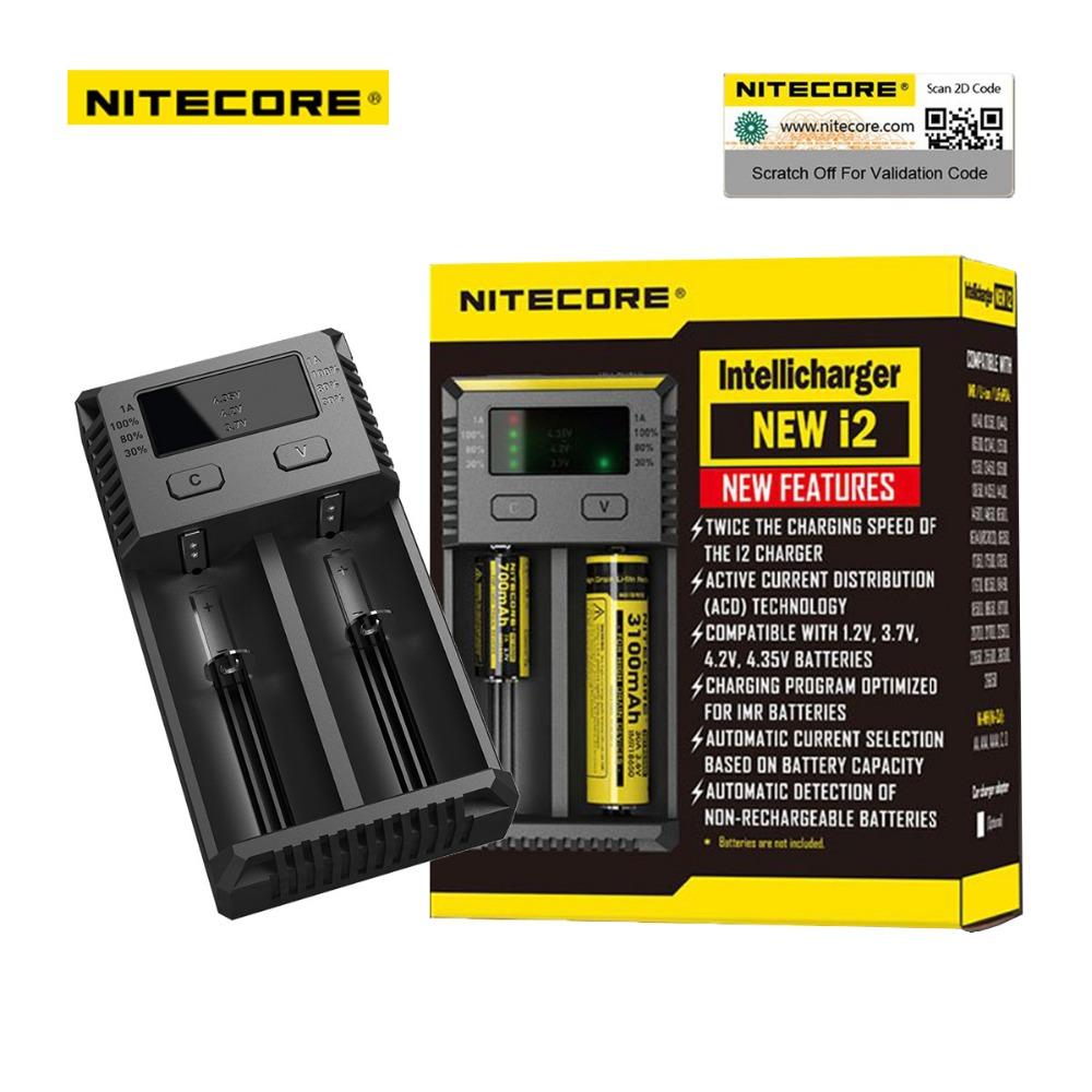 Carregador de Baterias - New i2 - Nitecore®