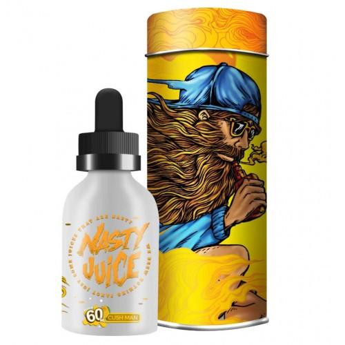 Frasco de Cush Man da marca Nasty juice