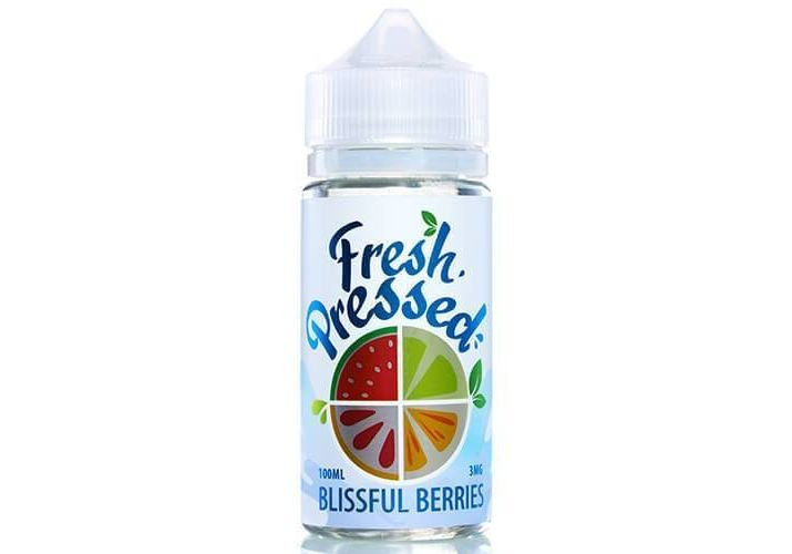 Líquido Blissful Berries - Salts - Fresh Pressed