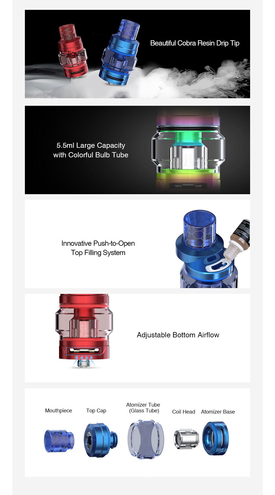 Atomizador ProCore Air Plus - Joyetech