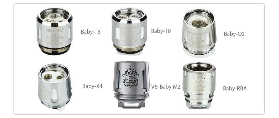 Kit Alien Baby - AL85 TC 85W - c Atomizador TFV8 Baby - Smok™ (4)