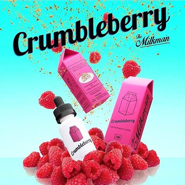 Liquido Crumbleberry - The MilkMan eLiquid