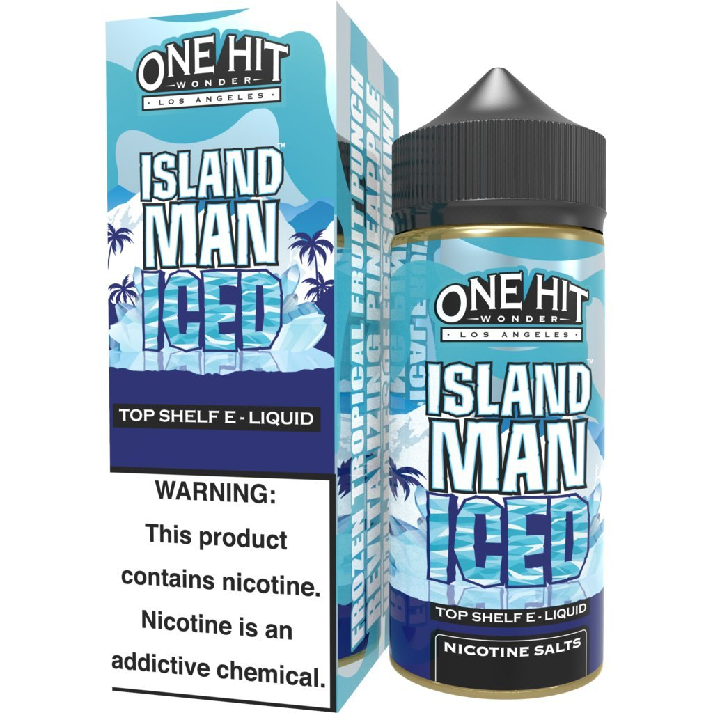 Líquido Island Man ICED™ - One Hit Wonder e-Liquid