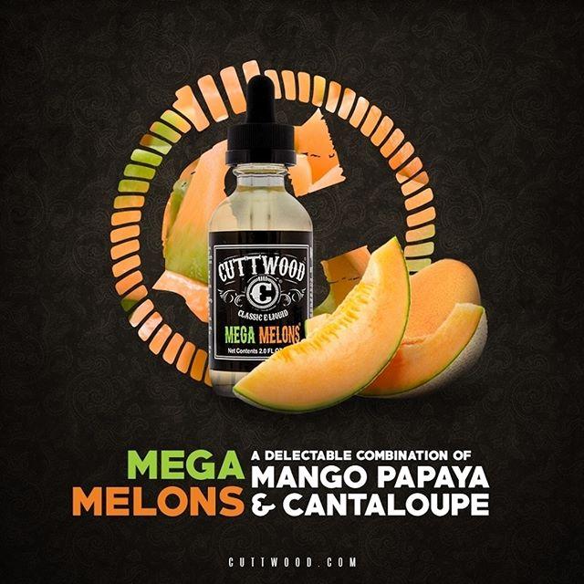 Líquido Mega Melons - Cuttwood®