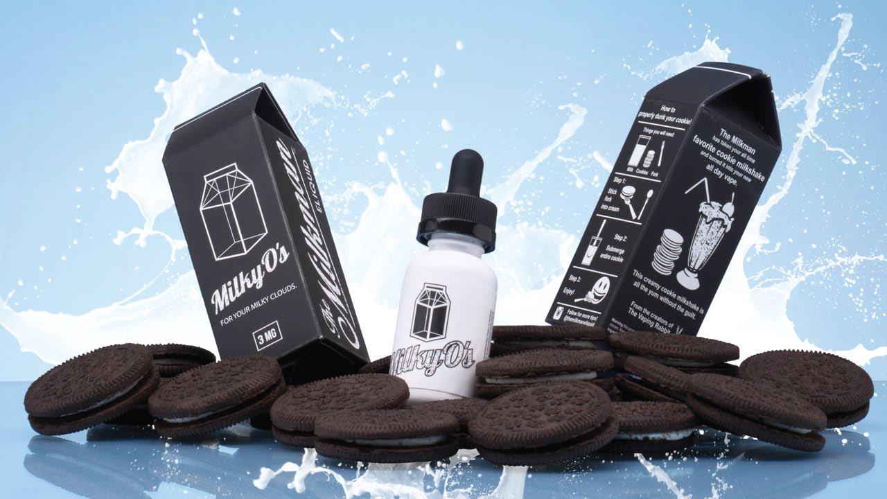 Liquido Milky O's - The MilkMan eLiquid