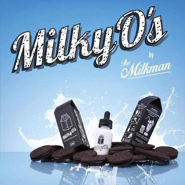 Liquido Milky O's - The MilkMan eLiquid