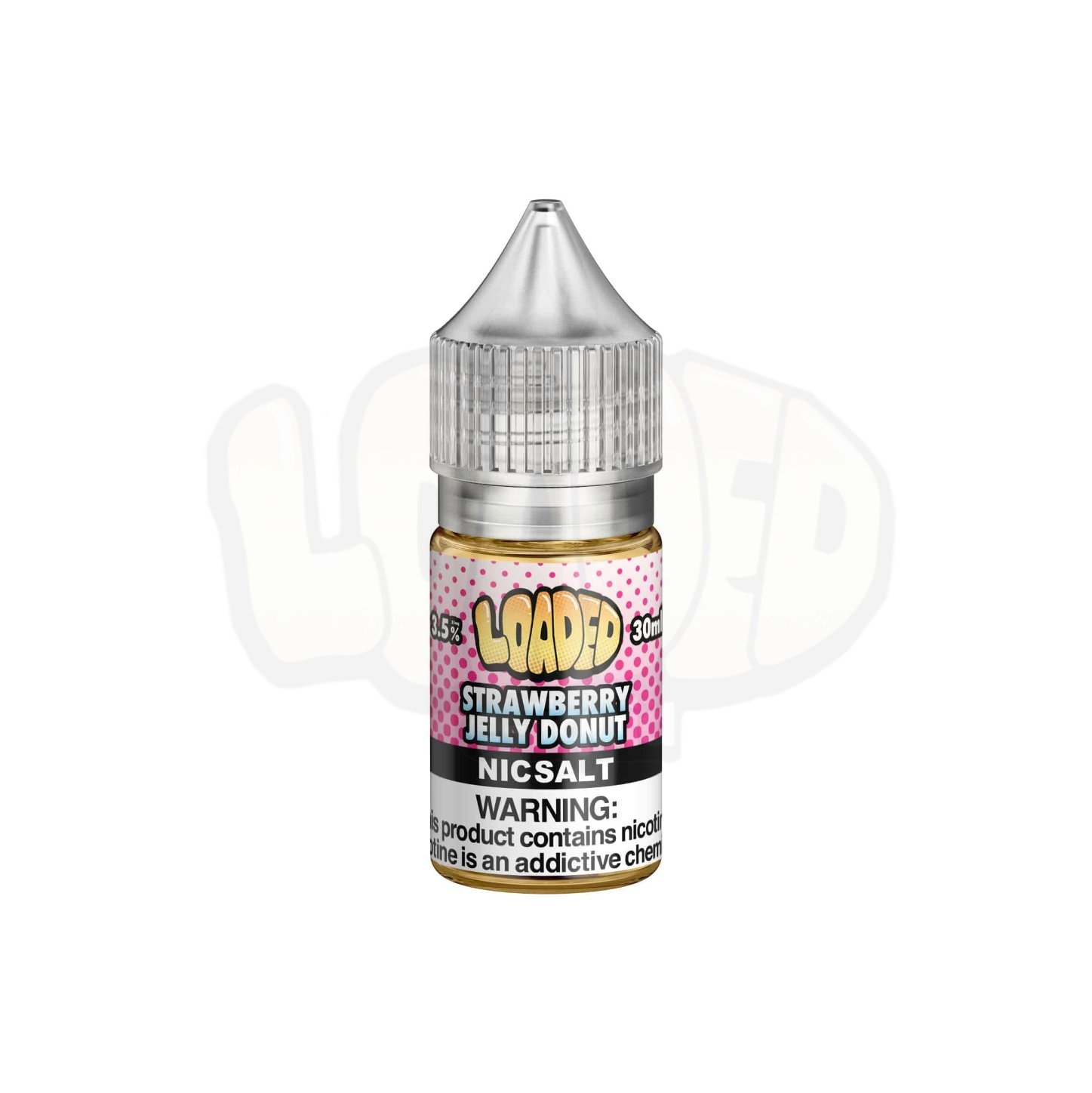 Líquido Strawberry Jelly Donut - SaltNic / Salt Nicotine - Loaded