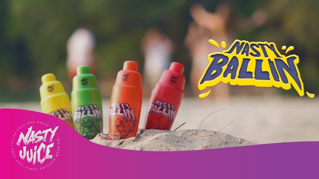 Líquidos Nasty Ballin - NASTY JUICE