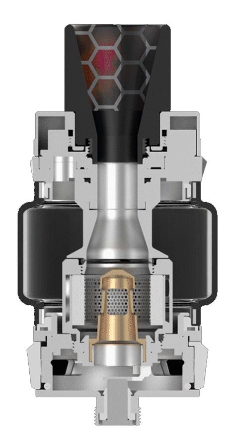Kit LUXE 220W c/ Atomizador SKRR - VAPORESSO