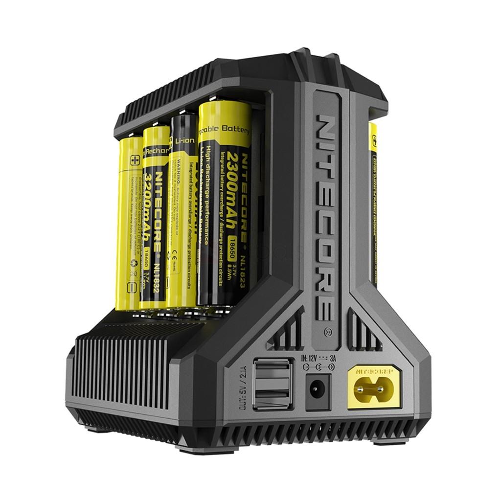 Carregador de Baterias i8 - Nitecore®